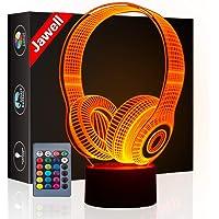 3d ilusión 7colores interruptor de luz decorativa lámpara