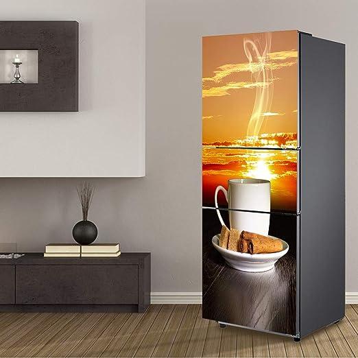 XYUGHJ Etiqueta de la Puerta del refrigerador 3D Decorar en casa ...
