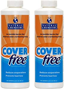 2) Natural Chemistry 07100 Spa Swimming Pool COVERfree Barrier Layer - 32oz Each