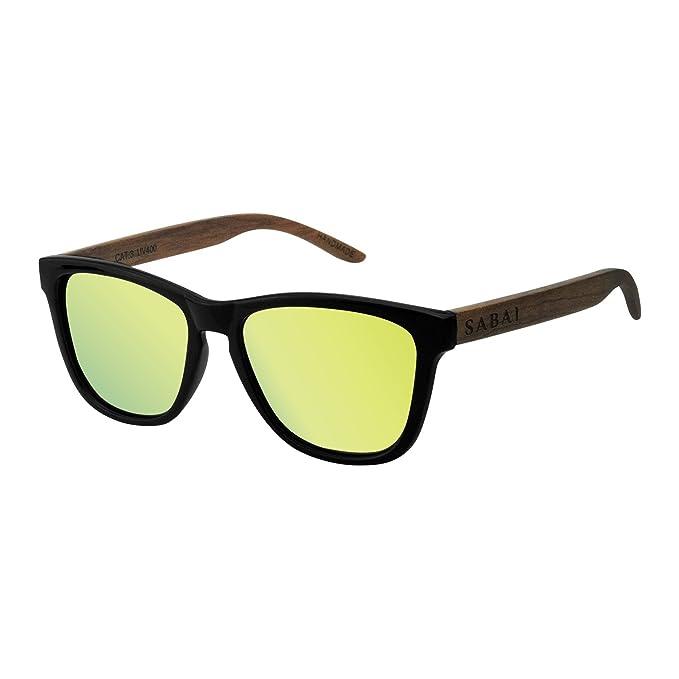 SABAI Wave- Gafas de Sol Polarizadas Marco Mate Lente Amarilla
