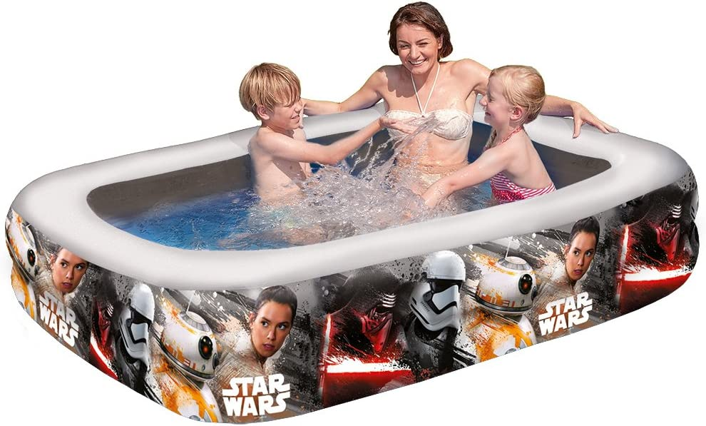 Happy People Family Pool Star Wars
