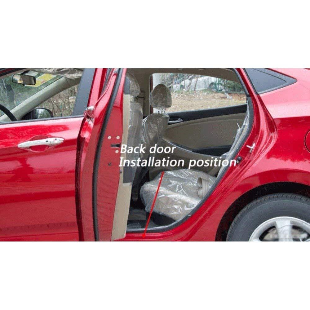 para Volkswagen Touran 2004-2015 Bienvenido Patada Pedal Door Sill Desgaste Pegatinas Tiras Proteccion Accesorios BTSDLXX 4Pcs Coche Acero Inoxidable Externo Barra Umbral Puerta