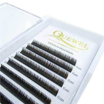 05ac995aeaa Amazon.com : Eyelash Extension Supplies Thickness 0.15 Curl C/D Length From  6mm To 18mm Mix-8-14mm  Best Soft Eyelash Extension(0.15 C Curl, 6mm) :  Beauty