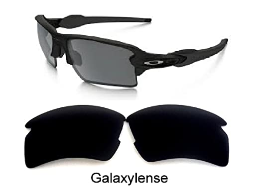 a768c3da96a Galaxy Replacement lenses For Oakley Flak 2.0 XL Polarized Black 100% UVAB