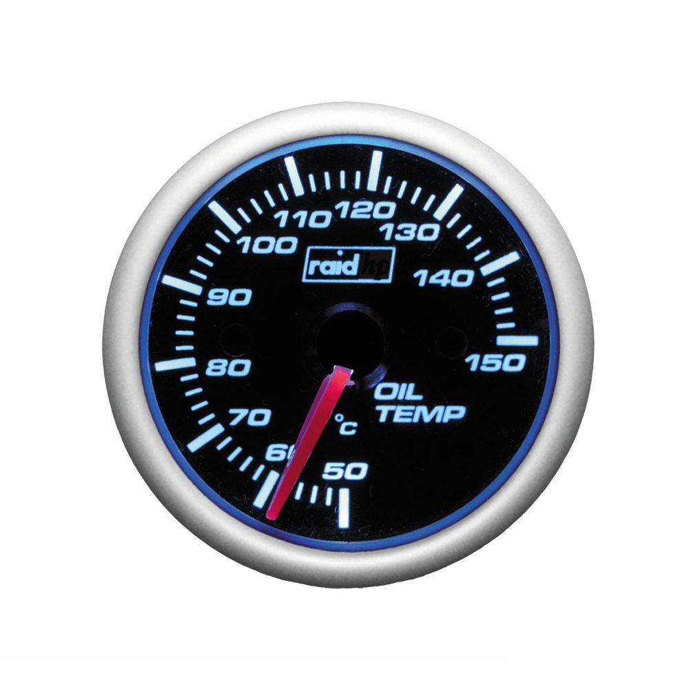 raid hp Instrument - Zusatzinstrument - NIGHT FLIGHT BLUE - Ã – l/Temperatur/Ã – ltemperatur-Anzeige