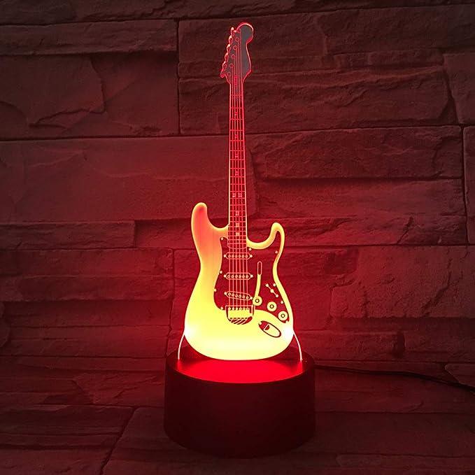 Amazon.com: Lámpara de noche con iluminación 3D, diseño ...
