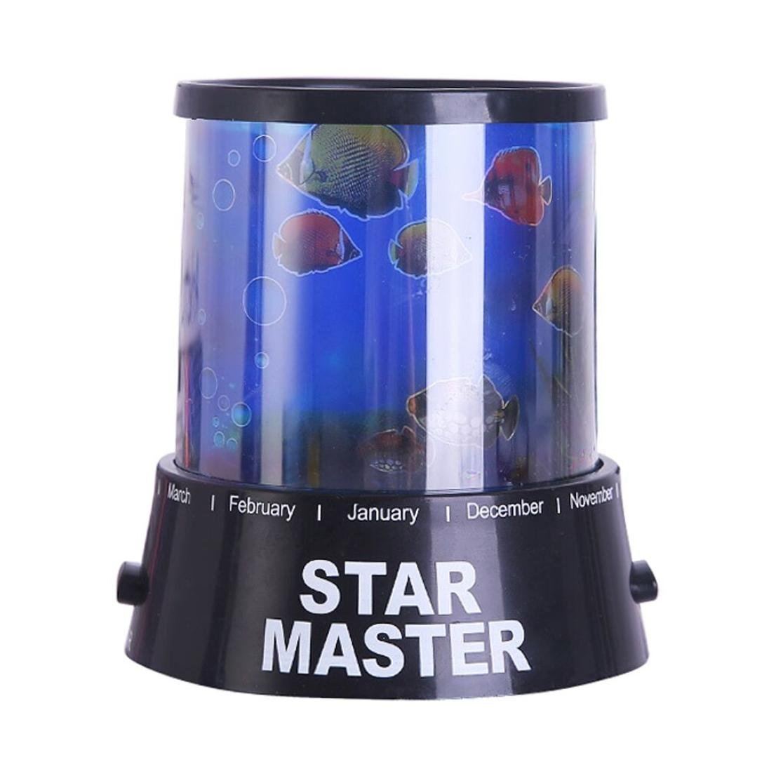 Stylish House Party Decor Night Light/ Projection Lamp Star,Y56 Celestial Star Cosmos Night Lamp Night Lights Projection Projector Starry Sky (A) 5656YAO