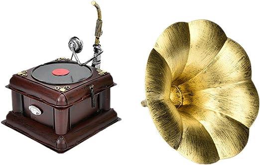 Sheens Modelo de fonógrafo Retro, decoración Modelo de Nostalgia ...