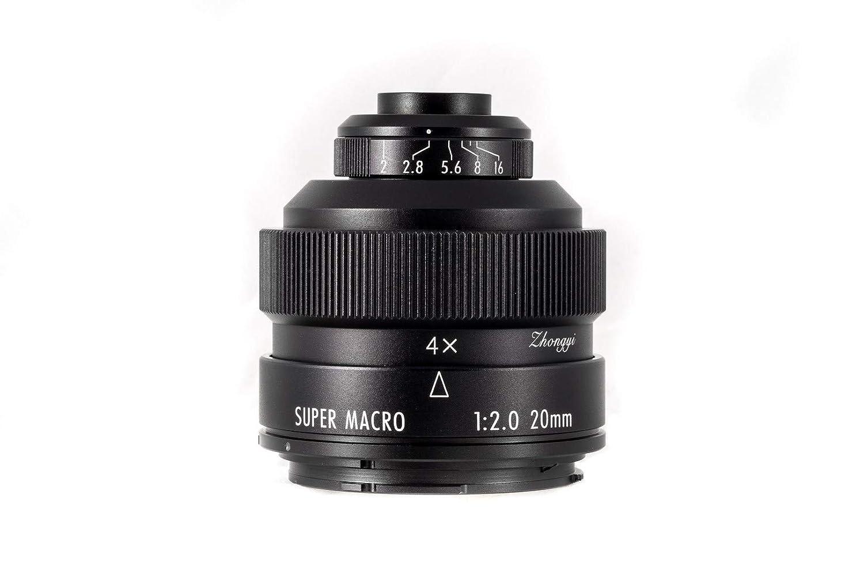 Zhongyi Mitakon Creator - Objetivo para cámaras Sony e (20 mm, F/2 ...