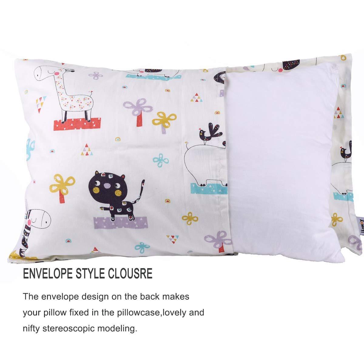 Baby Boy Alphabet Travel Pillowcase