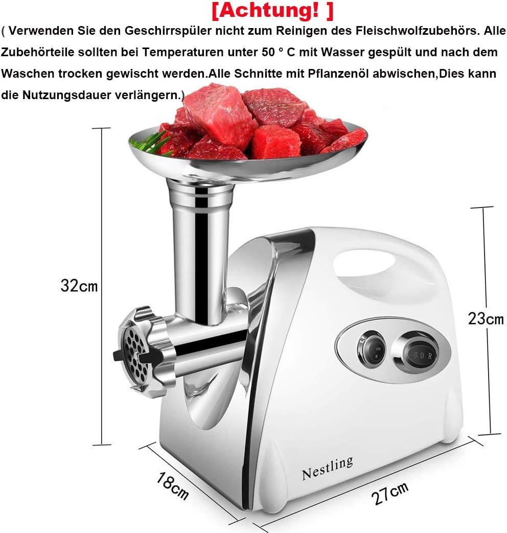 Küchenmaschine Mit Fleischwolf Und Wurstfüller 2021
