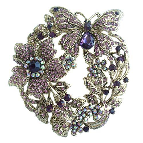 Art Deco Flower Brooch - Art Style 3.54