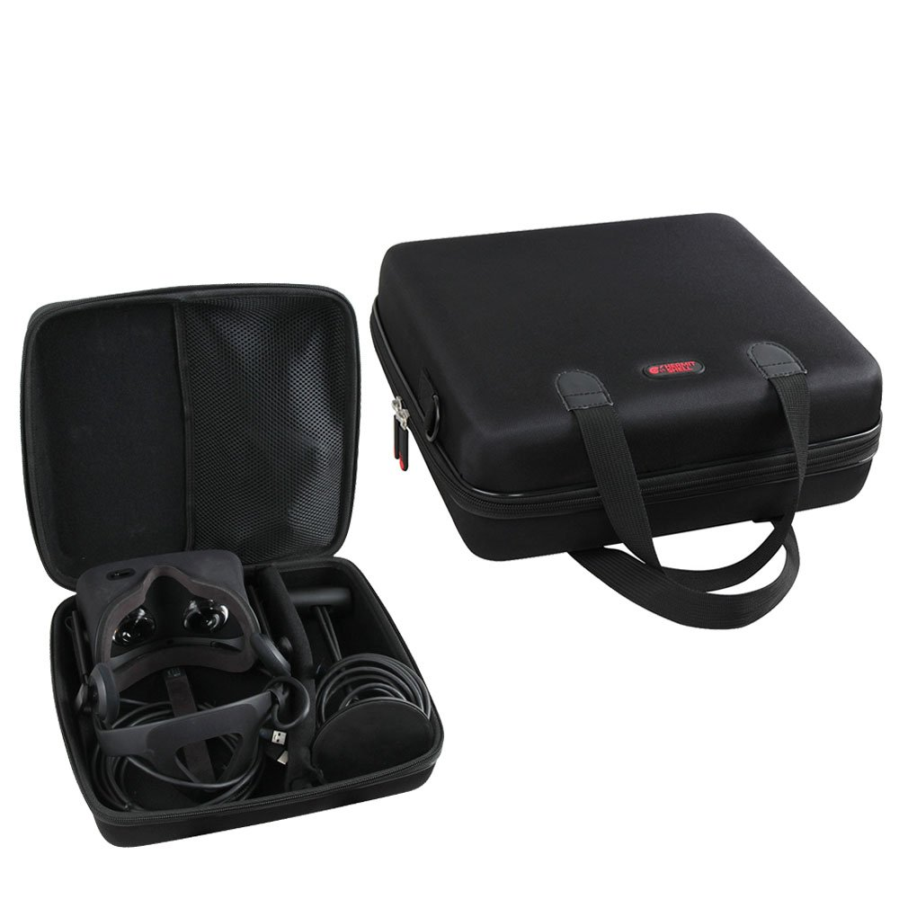 Hard EVA Travel Case for Oculus Rift VR - Virtual Reality Headset by Hermitshell FBA_170506-2