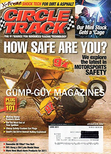 Advanced Custom Rod - Circle Track magazine, June 2011-How Safe Are You? The latest in Motorsports Safety.