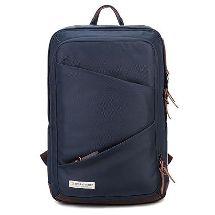 679cd8eb2e01 ZUMIT Computer Backpack Business Laptop Rucksack Waterproof Resistant  Travel With YKK Zipper Blue  803  Amazon.co.uk  Computers   Accessories