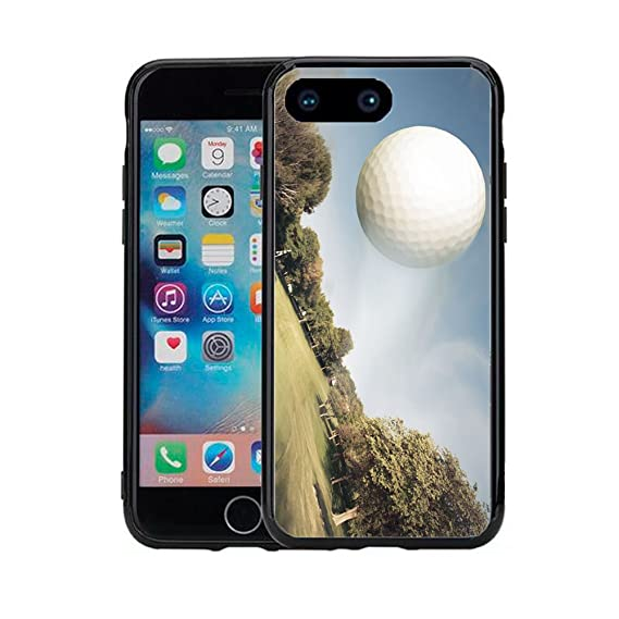 buy online 168ea 8ad7d Amazon.com: Golf Ball in Air for iPhone 7 Plus (2016) & iPhone 8 ...