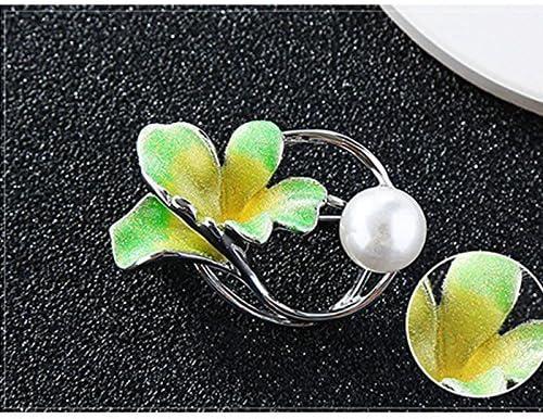 Ogquaton Broche pour les femmes Broches Broches Fleur Broche Broche /él/égante Broche de noce Portable et utile