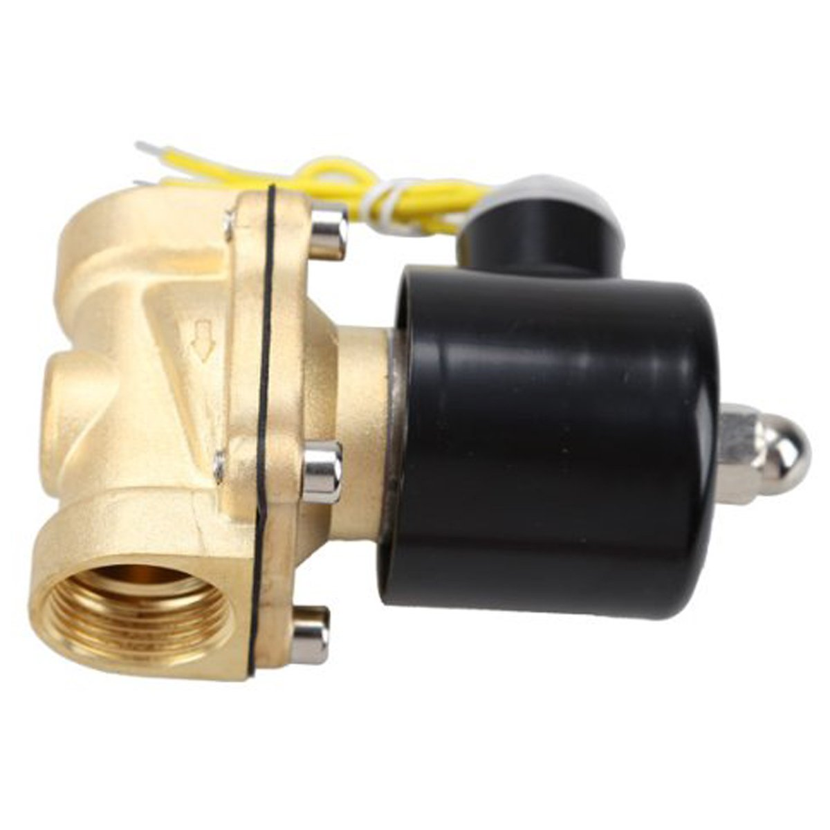 HSH-Flo Brass 3/4' DN20 110V/115VAC NPT 2 Way Normally Closed Electrical Solenoid Valve