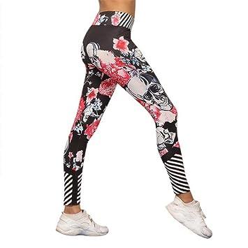 Ytdzsw Pantalones De Yoga Negro De Cintura Alta Corriendo ...