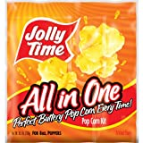 8 oz all in one popcorn - Jolly Time All-in-One Popcorn Kernel, Oil & Salt Portion Kits, 10.5 Ounce, for 8 Ounce Poppers (Pack of 36)