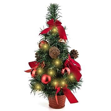eforink rbol de navidad pequeo rbol de navidad de mesa para decoracin 45cm - Arbol De Navidad Pequeo