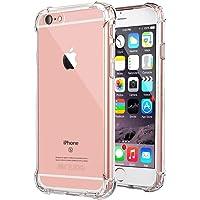 """Coque iPhone 7 Plus, Coque iPhone 8 plus, Jenuos Transparent Doux Souple Extrêmement Fin Housse TPU Silicone Etui pour iPhone 7/ 8 Plus 5.5""""- Transparent"""