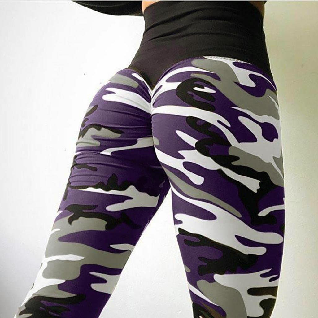 Yoga Pants for Womens Womens Workout Leggings Fitness Gym Running Sports Yoga Pants