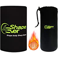 4EverShape Waist Trainer for Weight Loss, Premium Waist Trimmer, Waist Belt for Women & Men, Includes Free Soft Sandwich mesh Bag