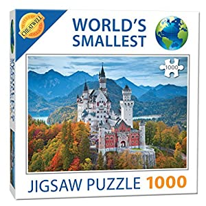 Worlds Smallest 1000 Pezzi Puzzle Neuschwanstein Castle