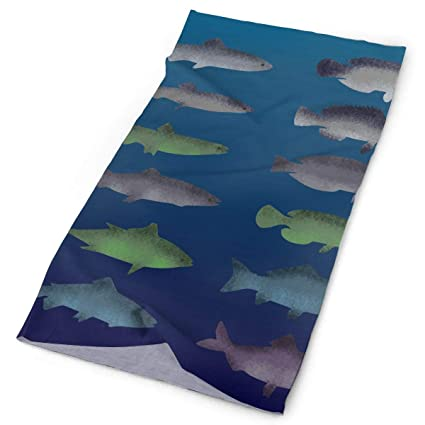 Amazon.com: Free Textured Fish Original Headband with Multi ...