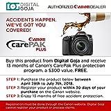 Canon EOS 80D DSLR Camera Body w/Advanced Photo and Travel Bundle