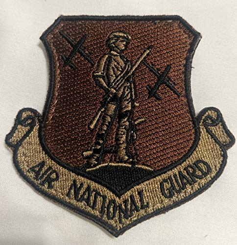 - Air National Guard C-130 OCP Velcro patch (Spice Brown) (2)