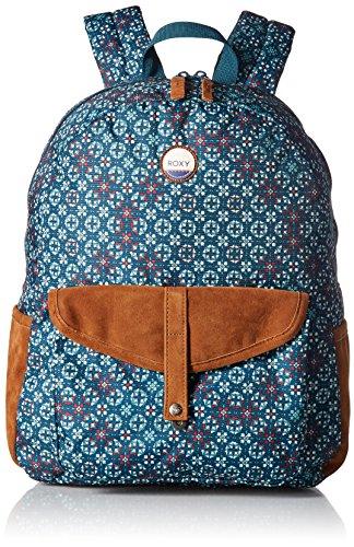 Roxy Women's Carribean Backpack, REFLECTIVE POND LIBERIA ERJBP03537
