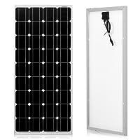 DOKIO 100 Watts 12 Volts Monocrystalline Solar Panel …