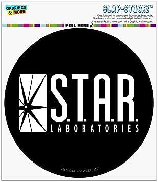 Star Labs Flash Vinyl Sticker