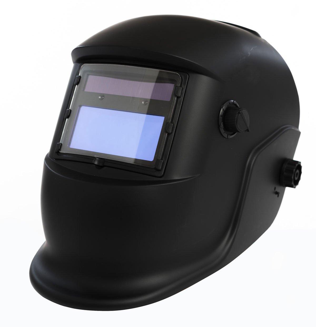 Schweiß helm Automatik Schweiß maske LCD Solar inkl. 11 + 1 qualitative Ersatzglä ser awshop24