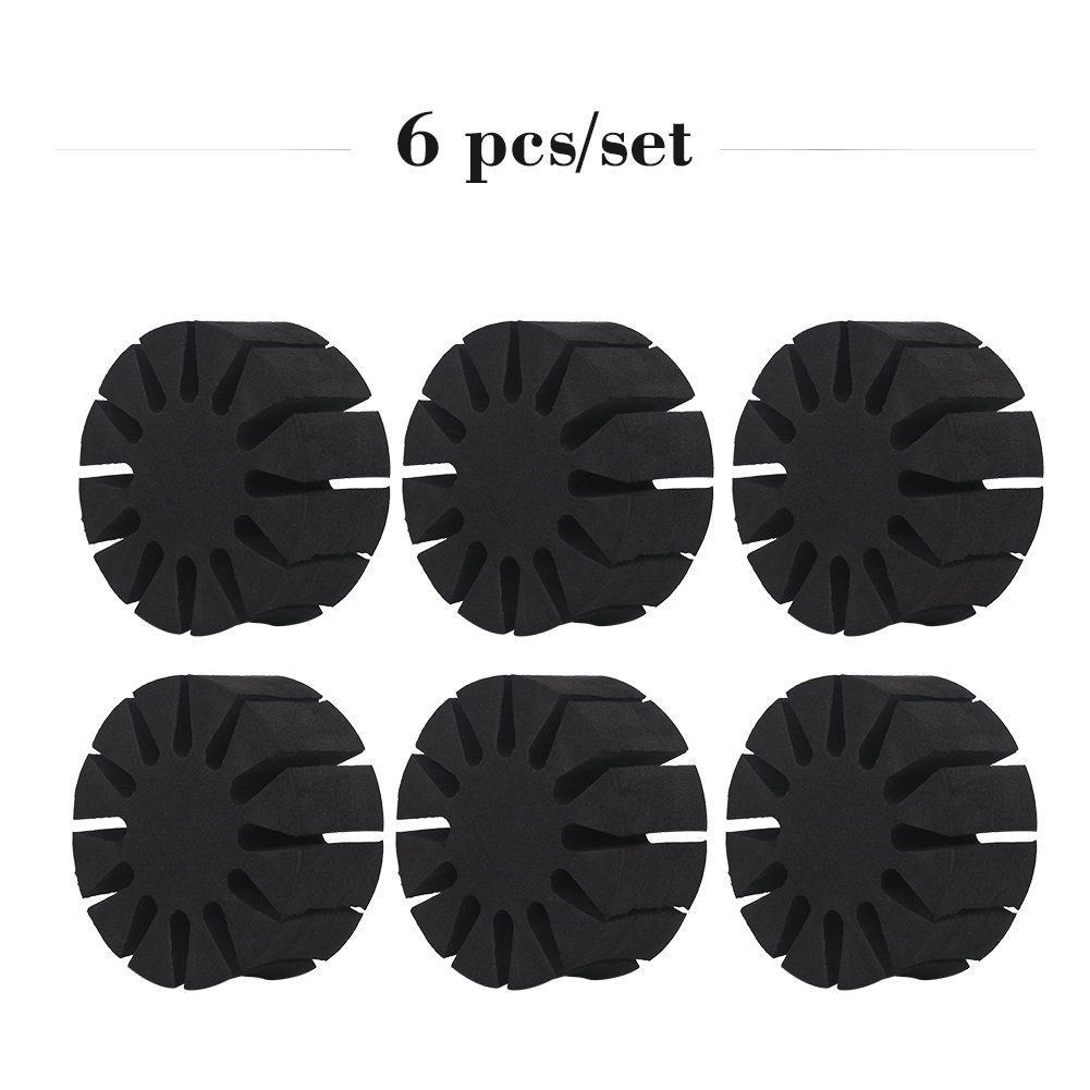 6 pezzi Portable Round EVA Foam Arrow Protezione Rack Separator Holder Outdoor Caccia Tiro con l'arco Attrezzo protettivo Attrezzo tenere 12 frecce VGEBY BDTXYZ0551