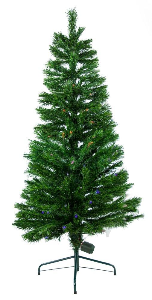 Green 8 Ft. Fiber Optic Christmas Tree