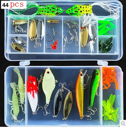 Bluenet Fishing Lures Diving Lures Floating Lures Kit In The Box Bass Pike Musky Muskie Fishing LURES
