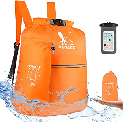 Fi... TEGOS Waterproof Dry Bag Backpack Floating Dry Backpack for Water Sports