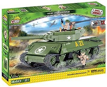 Zabawki M10 Tank Destroyer 'Wolverine' COBI 2475-440 brick set Części i akcesoria do zabawek konstrukcyjnych