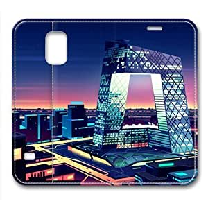Beatiful City Architectural Leather Cover for Samsung Galaxy S5 by Cases & Mousepads