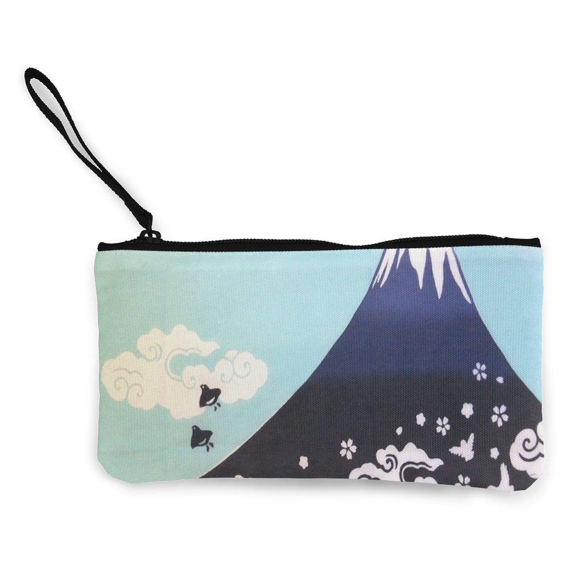 小銭入れ 日本 モダン パターン メンズ ジップ キャンバス 財布 旅行 素敵なケース 4.5