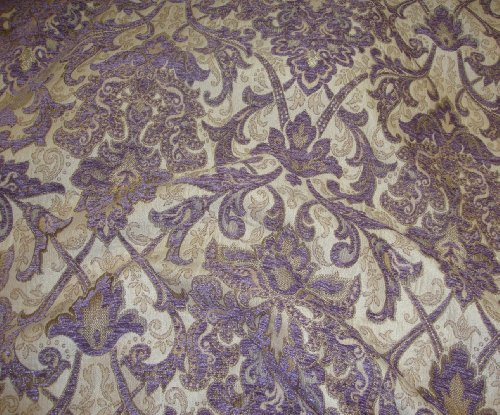 - Chenille Passion Damask Upholstery Drapery Fabric By the Yard 55