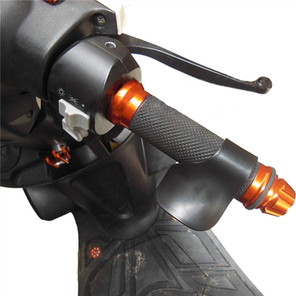 Turspit Motorrad Lenkergriffe f/ür Universal Street /& Racing Moto Racing schwarz