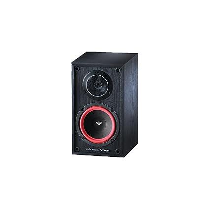 Cerwin Vega VE5M 125 Watts 2 Way Home Audio Bookshelf Speaker Pair Black