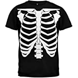 Halloween Skeleton Glow In The Dark Costume T-Shirt