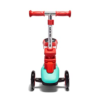 Svolta Ace 2-in-1 Sit and Stand Kids Toddler Scooter Red : Sports & Outdoors