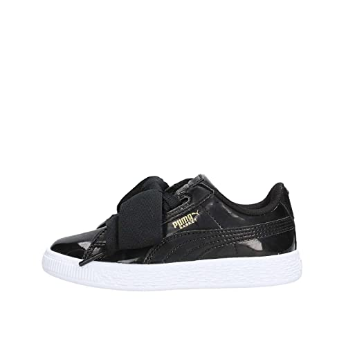 Puma Basket Heart Patent PS, Zapatillas Unisex Niños: Amazon.es: Zapatos y complementos