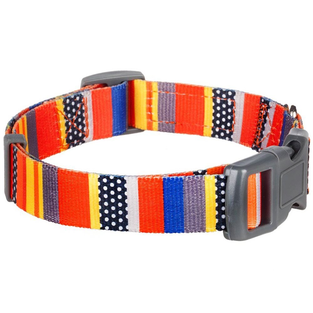 Home collars blueberry pet dog collar nautical flags inspired - Amazon Com Blueberry Pet Nautical Flags Inspired Designer Basic Dog Collar Neck 14 5 20 Medium Collars For Dogs Pet Supplies